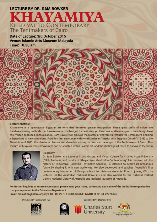 Khayamiya-IAMM Lecture